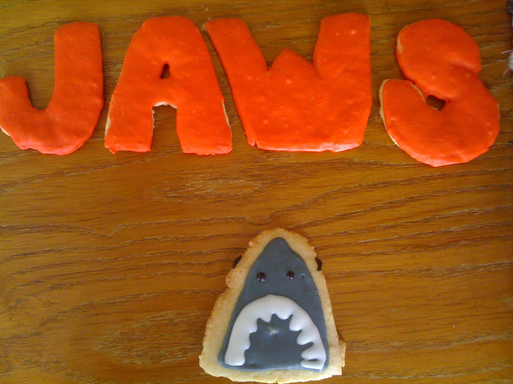 Jaws Cookies for Treat Street