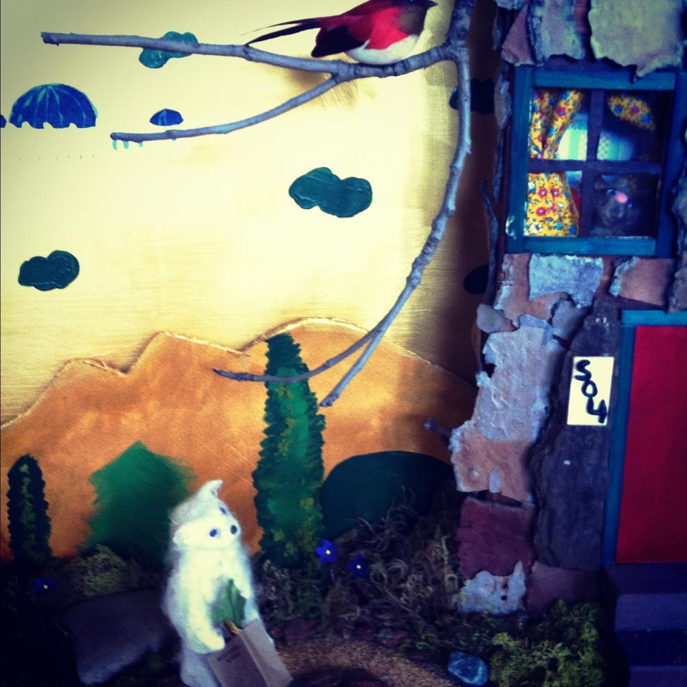 Beachwood Cafe diorama #1 (detail)