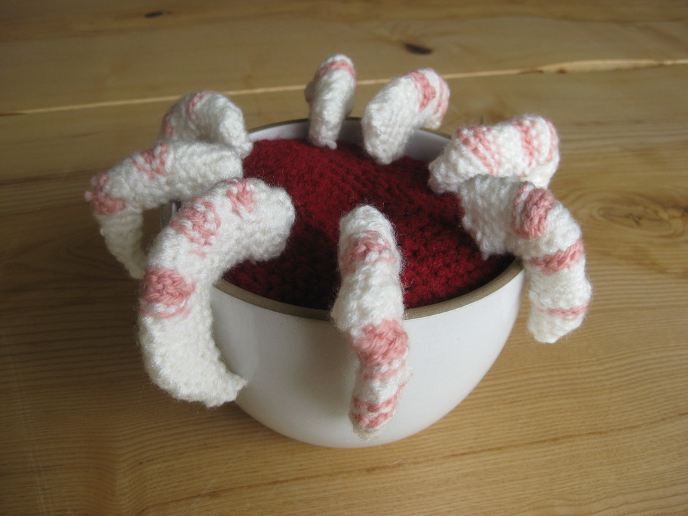 Crocheted Shrimp Cocktail