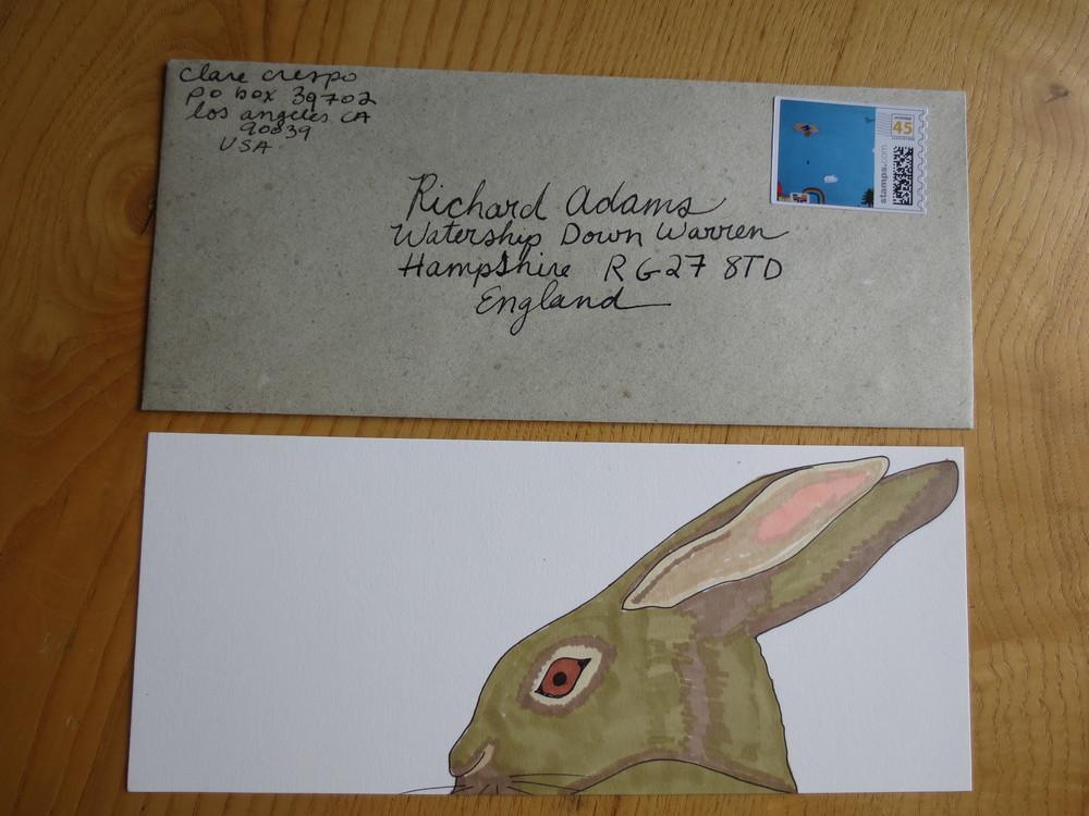 Letter to Richard Adams