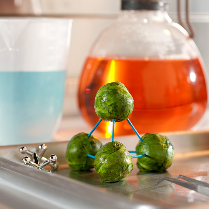 Molecular Brussels Sprouts