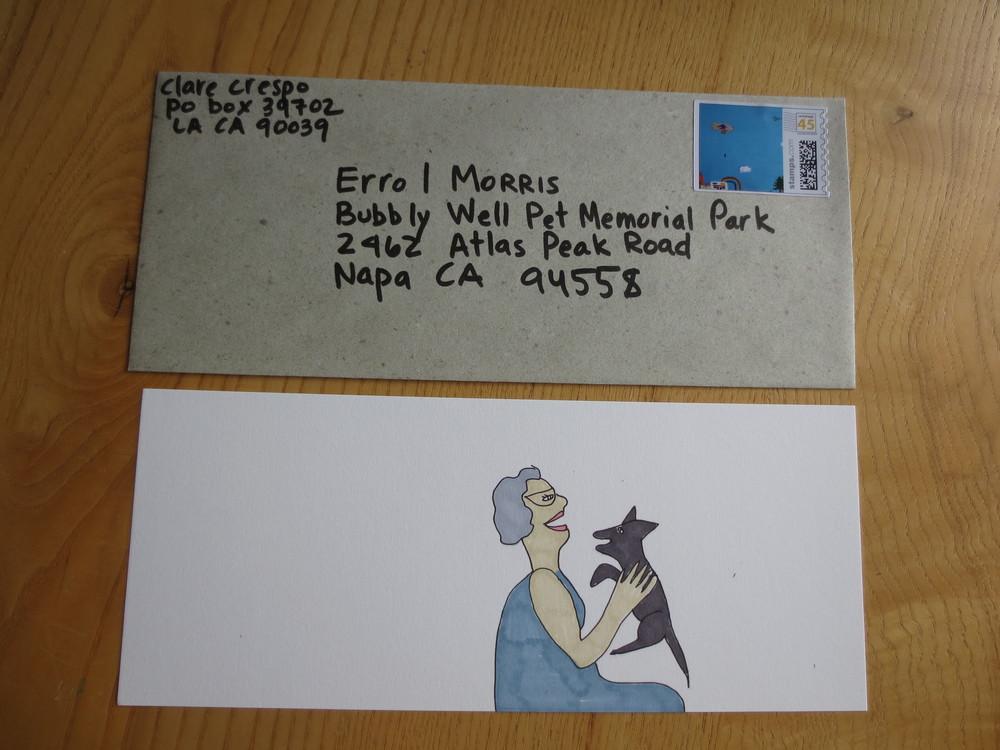 letter to Errol Morris