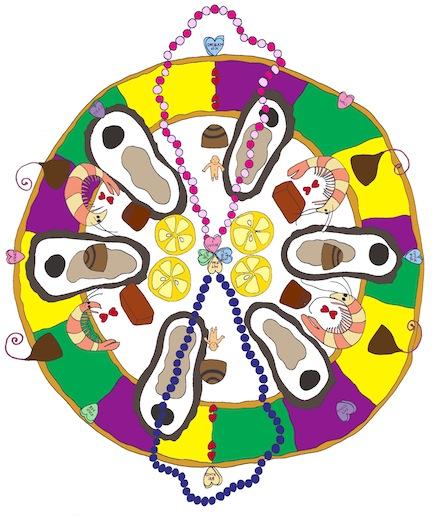 February Food Mandala