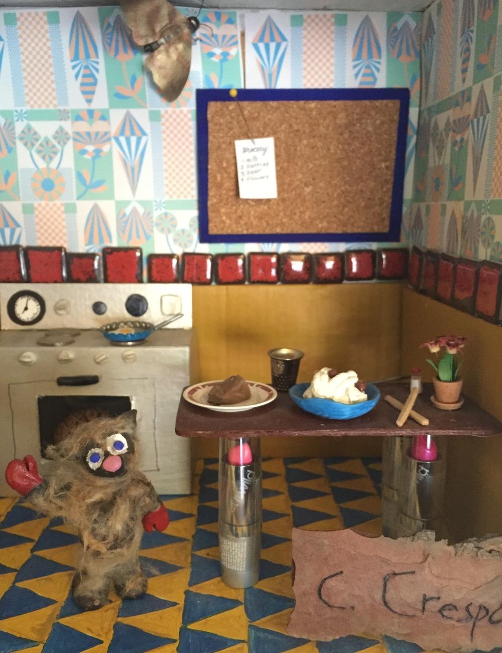 Beachwood Cafe Diorama #2 (detail)