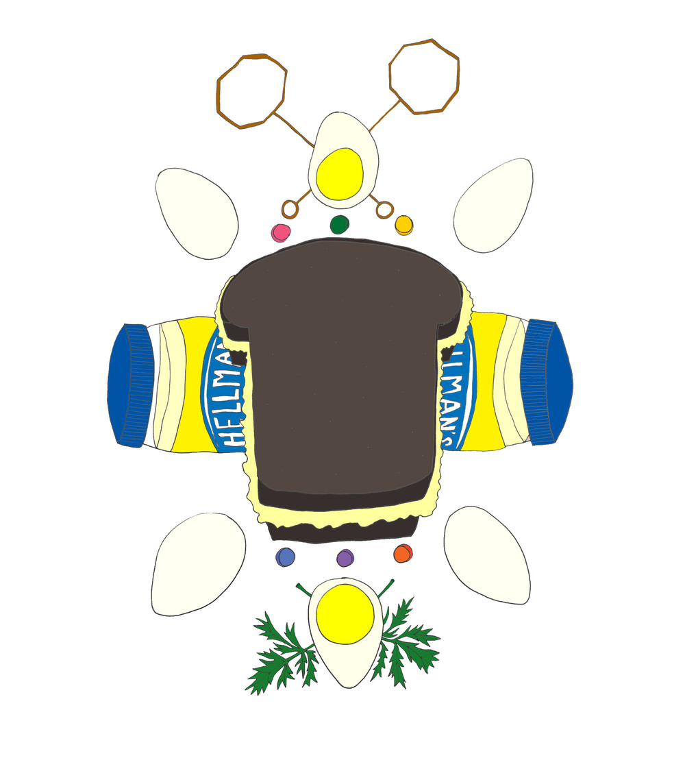 "Hurray Today 2016 Calendar ""Egg Salad Sandwich"""