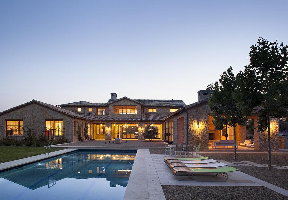 Los Altos Stone House