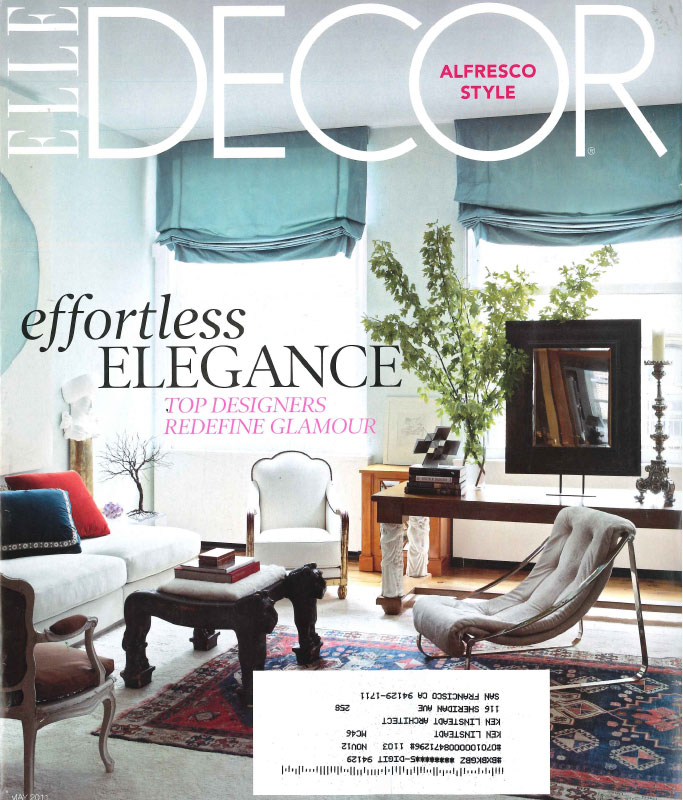 Elle Décor, May 2011