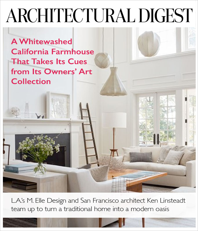 Architectural Digest, August 2016