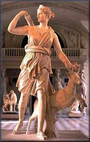 Copy of original Artemis sculpture, 325 B.C.