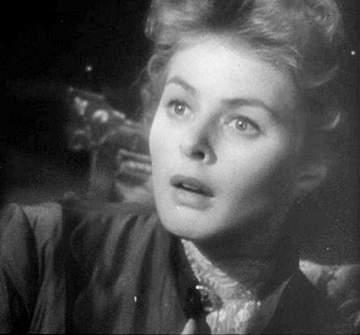 Ingrid Bergman in the 1944 film, Gaslight.