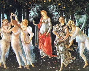 Boticelli's Primavera