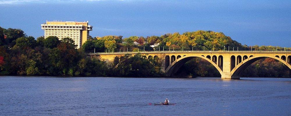 The Key Bridge Marriott Hotel in Arlington, VA