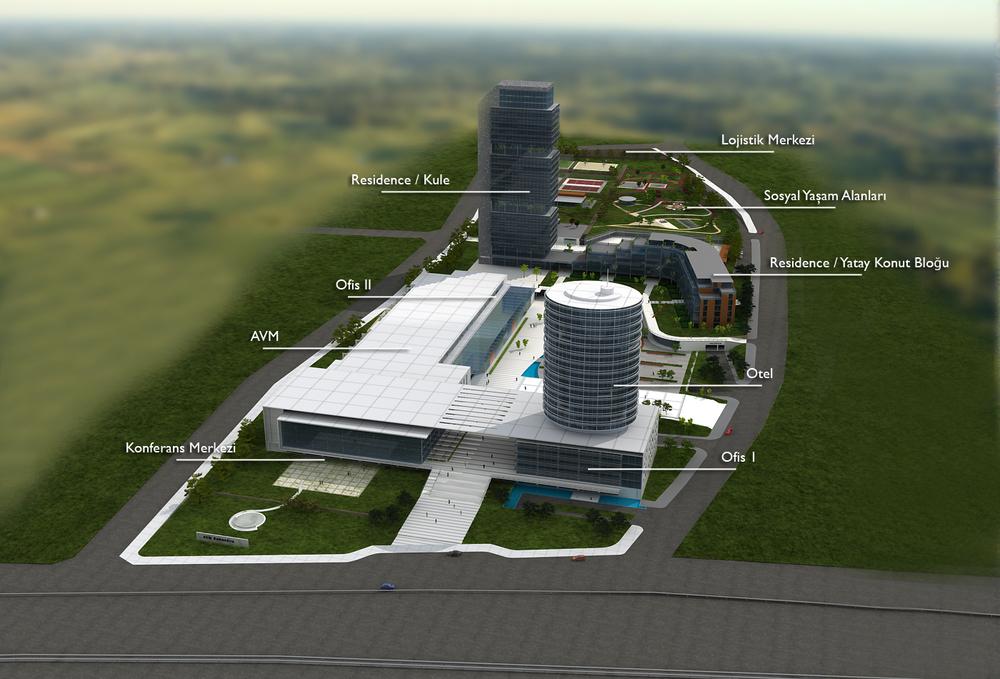Samandıra Alışveriş Merkezi, Rezidans, Ofis ve Kongre Oteli