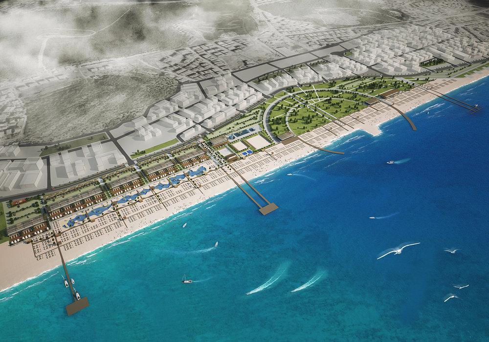 Ayvalık Sarımsaklı Plajı Kentsel Tasarım Projesi