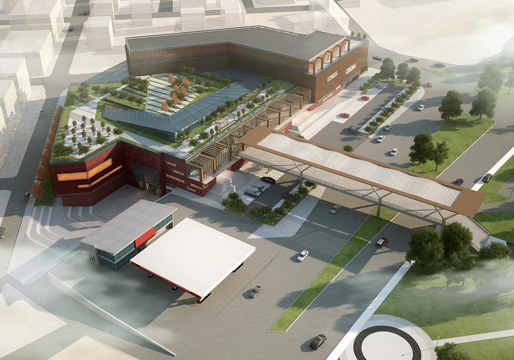Fatsa Alışveriş Merkezi ve Çevresi Kentsel Tasarım Projesi