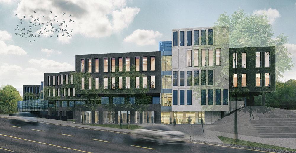 İstanbul Üniversitesi Biyoloji Bölümü, Moleküler Biyoloji ve Genetik Bölümü Binası