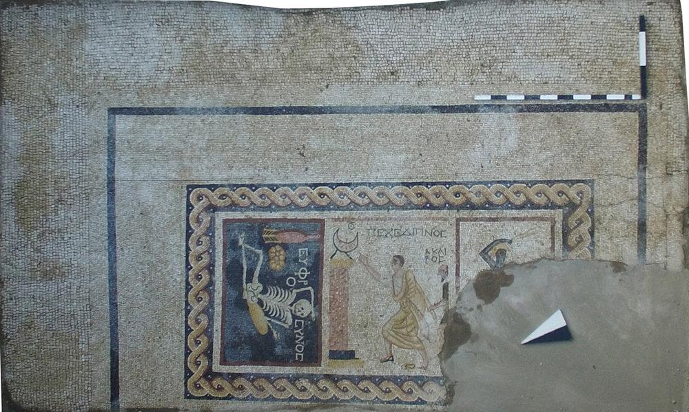 Roma Villası 3 Panolu Mozaik Kalıntısı