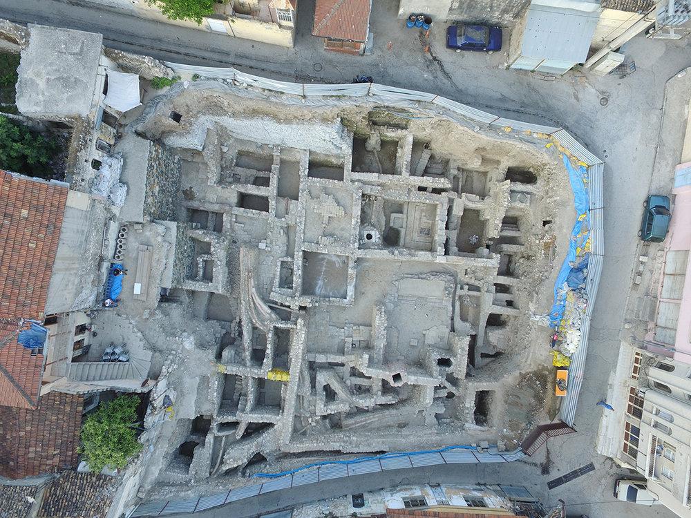 Teleferik Alt İstasyon Kazı Alanı (Roma Villası Kalıntısı)