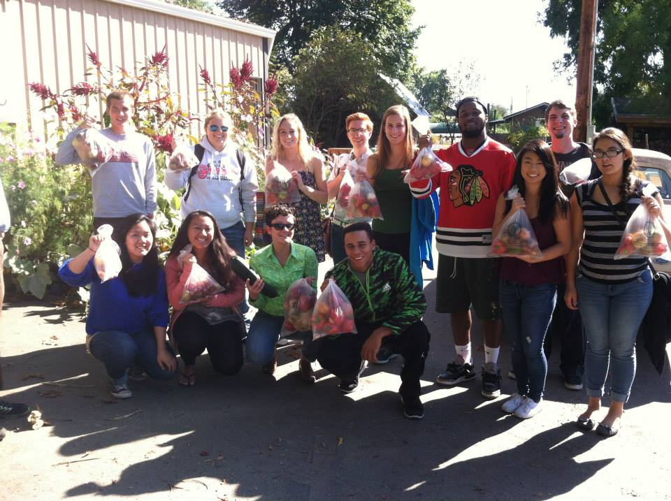 Visiting  B Street Living Museum  with Anthropology of Food students, 2014.
