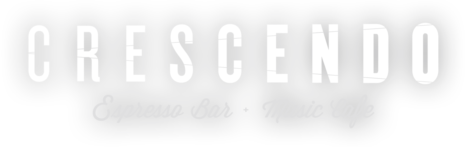 CRESCENDO ESPRESSO BAR + MUSIC CAFE