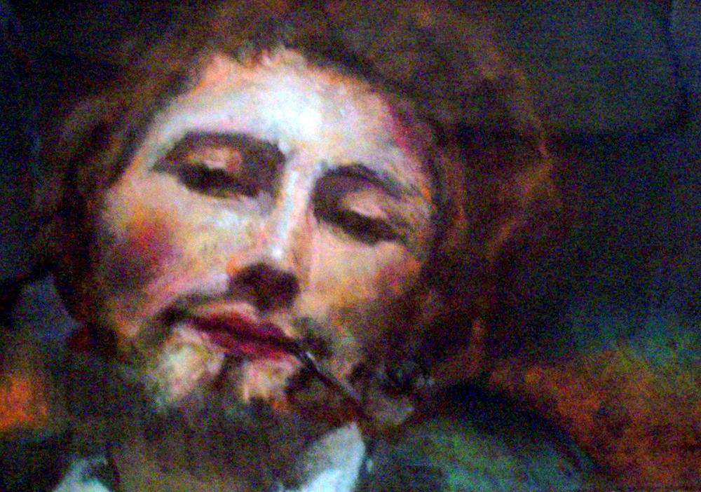 """Apres Corot  Pastel on paper 8x11"""""""