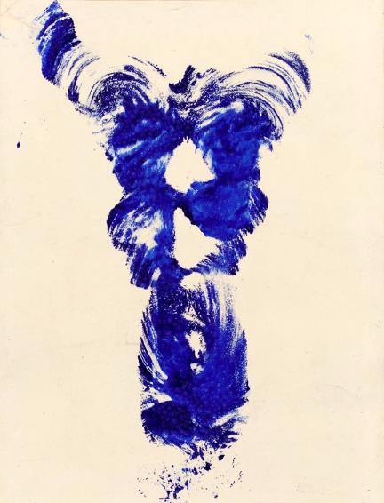 Yves Klein Anthropométrie sans titre (ANT 19), 1960.png