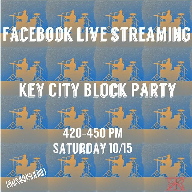 First ever Facebook live stream happening in less than 2 hours. Link in the bio