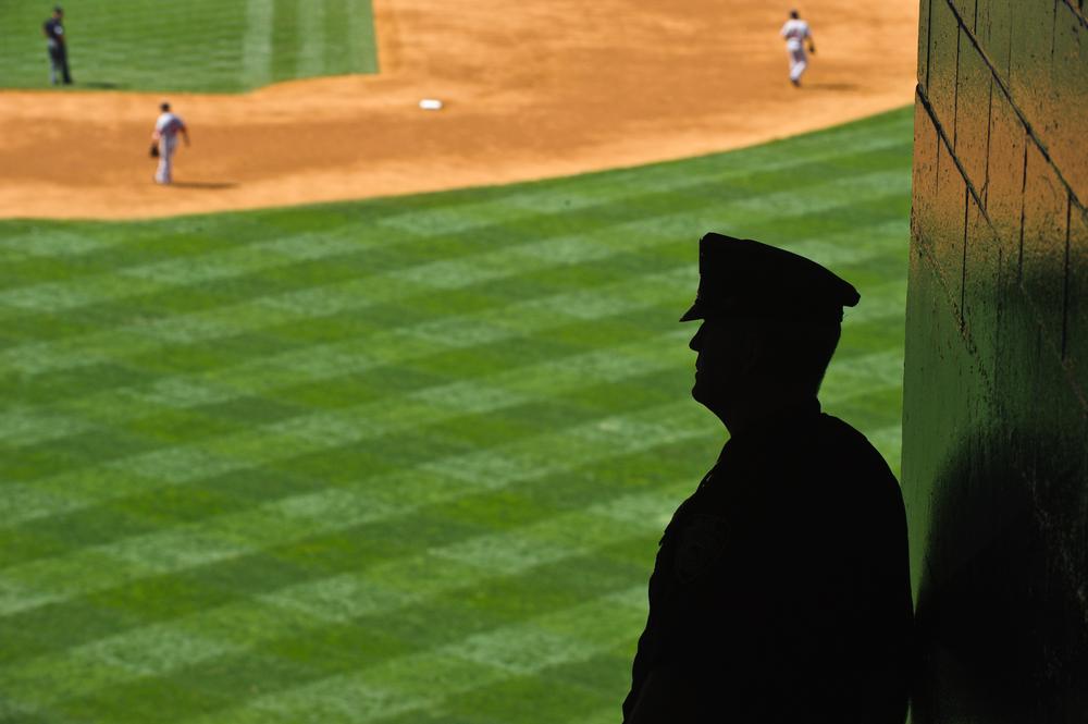 Yankee Stadium Beat Cop