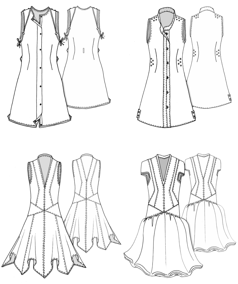 LineDrawings_DressFlats_01.png