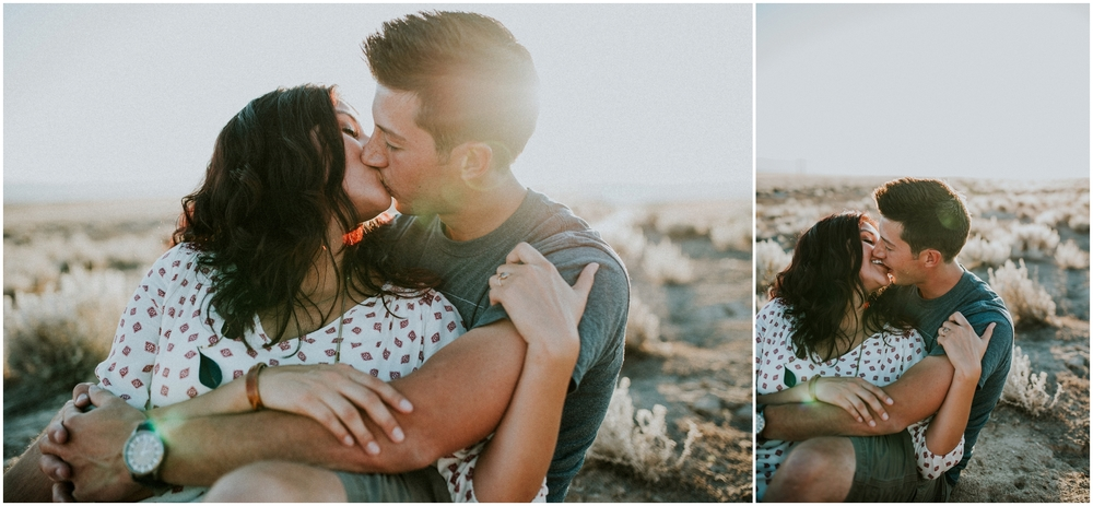 boise idaho engagement couples photographer love desert sunset session marriage