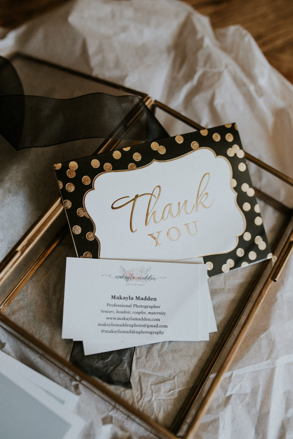 boise idaho boudoir photographer little glass picture folio box thank you cards