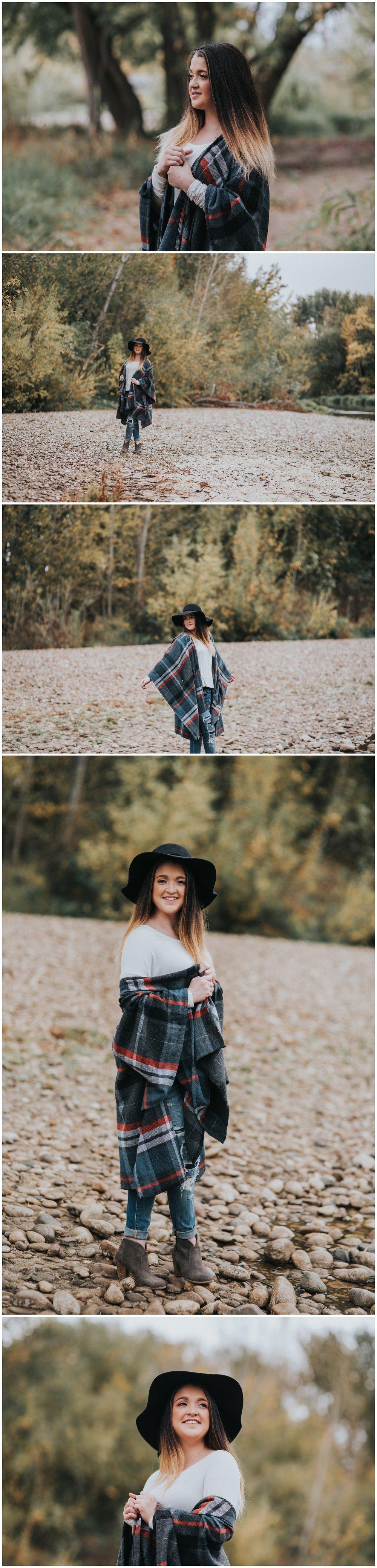 Boise Senior Photographer Makayla Madden Photography Fall Senior Pictures Senior Girl Fall Senior Photos Outfit Ideas Inspiration Fall Vibes Fall Portraits Idaho Hair Flips Fun Senior Pics