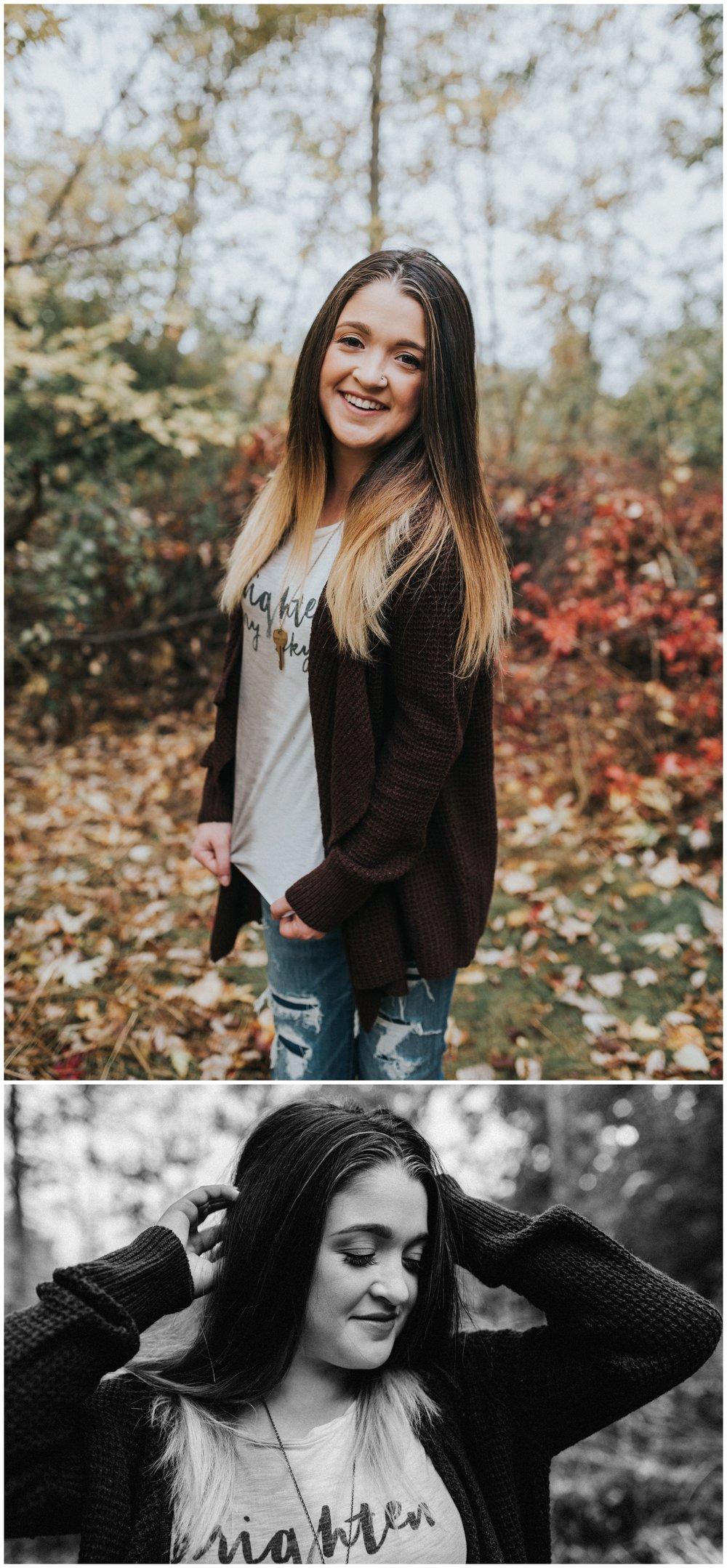 Boise Senior Photographer Makayla Madden Photography Fall Senior Pictures Senior Girl Fall Senior Photos Outfit Ideas Inspiration Fall Vibes Fall Portraits Idaho Hair Flips Fun Senior Pics Eagle Idaho