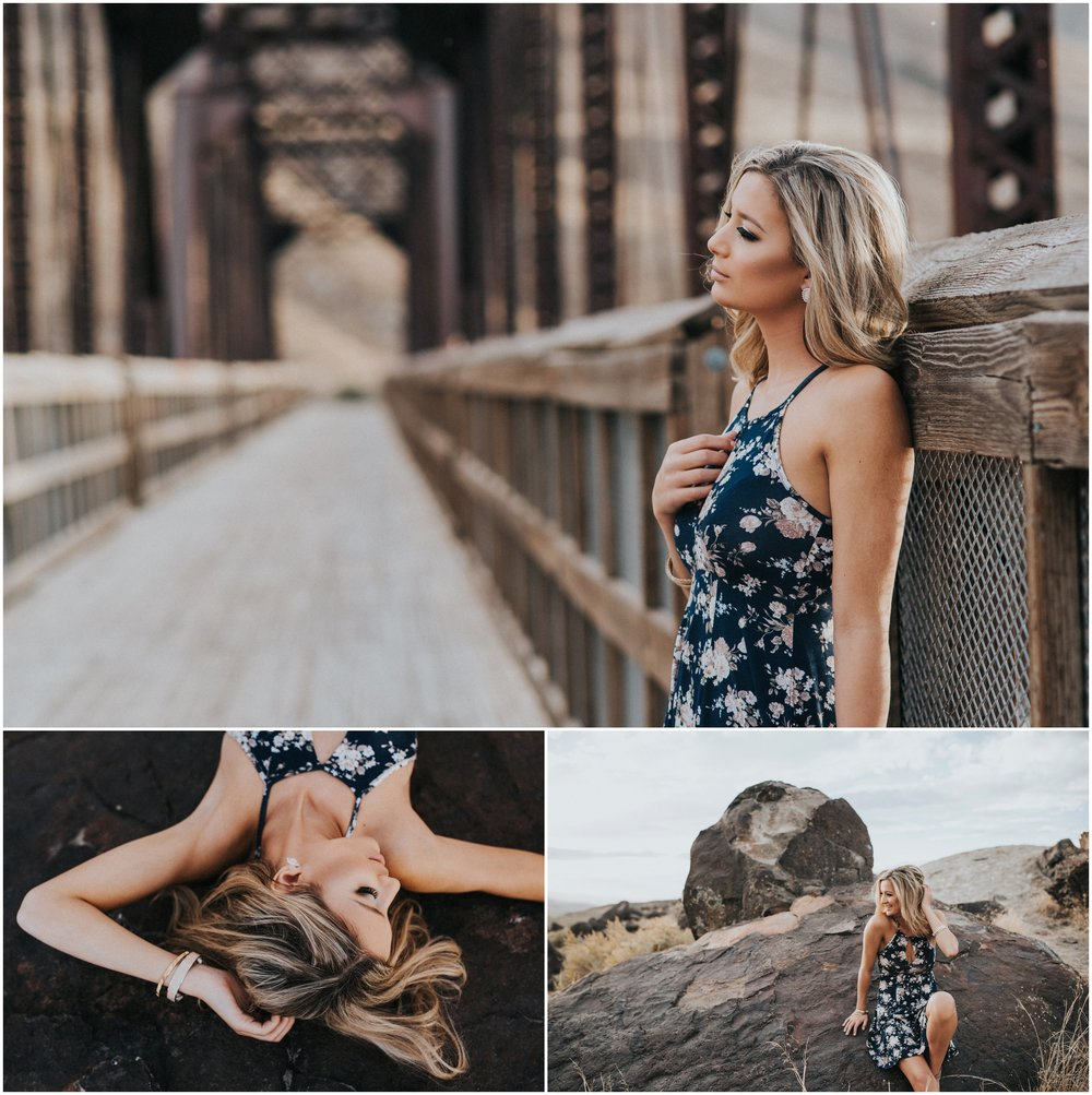 Boise Idaho senior photographer Celebration Park photography location ideas fall sunset senior girl