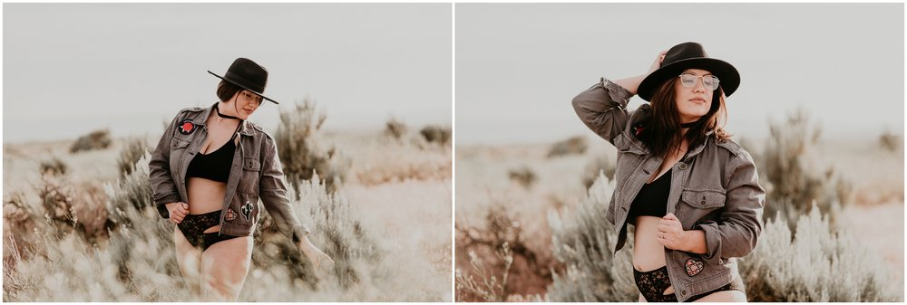 Makayla Madden Photography Boise Idaho Outdoor Boudoir Photographer Boudoir Inspiration Oregon Boudoir Photographer Hipster