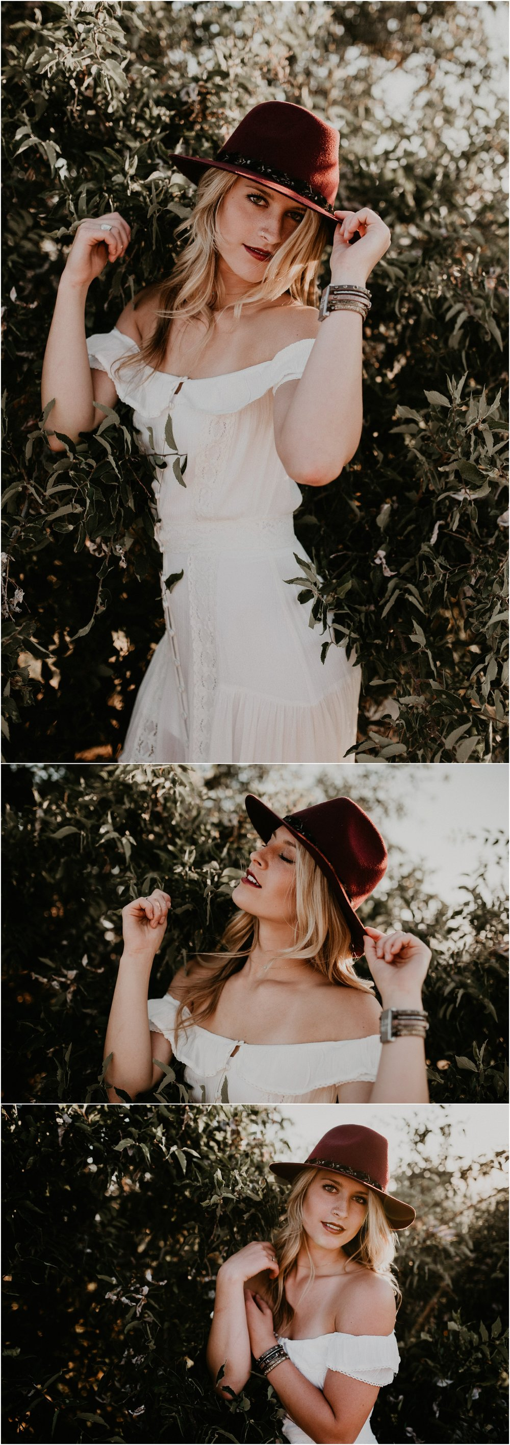 Boise Senior Photographer Makayla Madden Photography Styling Boho Downtown Idaho Table Rock Swank Boutique Creative Senior Picture Ideas Inspiration Golden Hour Raw Real Unique Off the Shoulder