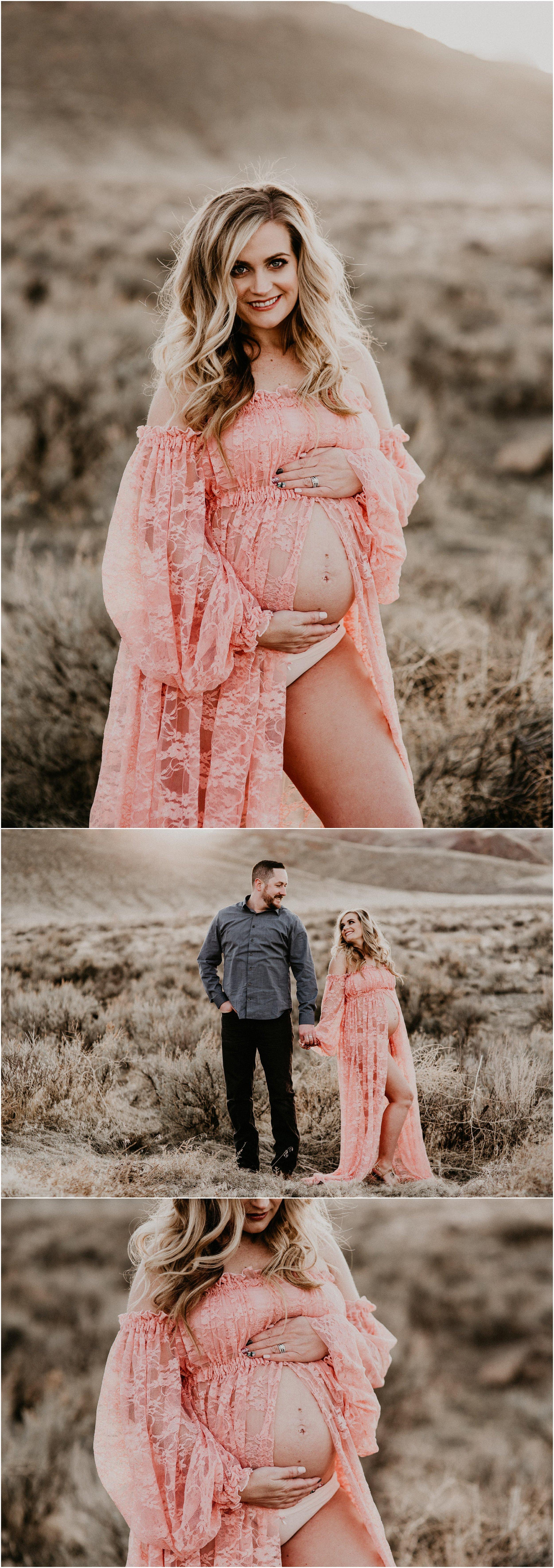 187e4ee7bc47f Boise Maternity Boudoir Photographer Makayla Madden Photography Lace Blush  Maternity Dress Sew Trendy Accessories Idaho Motherhood