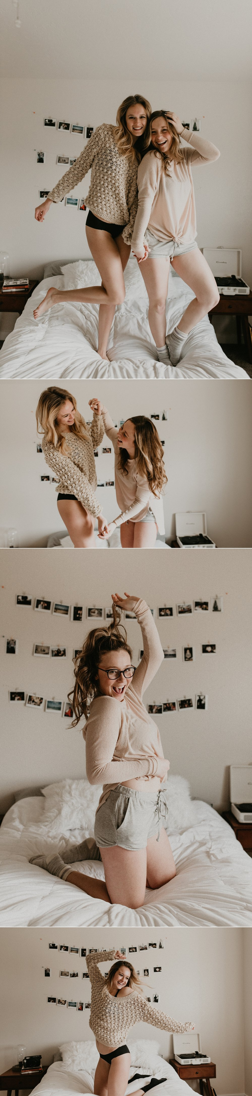 Boise Boudoir Photographer Boudoir By Kayla Makayla Madden Photography Idaho Lifestyle Boudoir Pizza Naps Boise Senior Photographer Best Friends Sweater Weather Polaroids