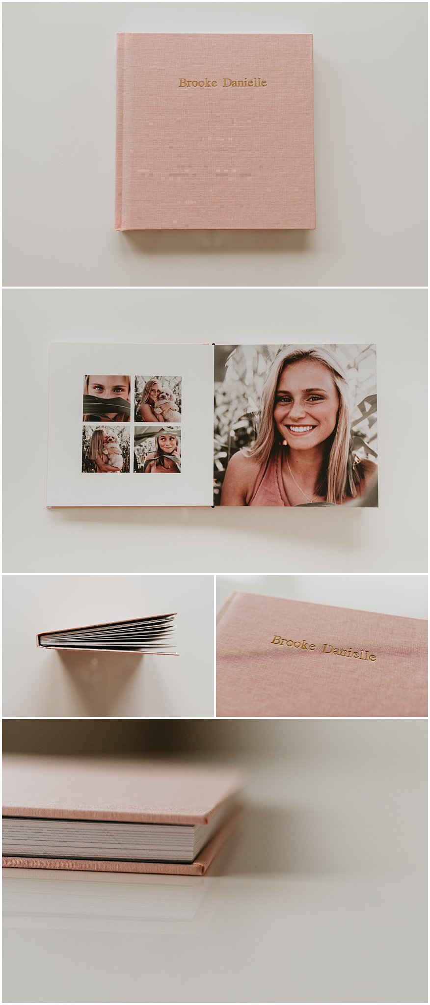 Boise Senior Photographer Makayla Madden Photography Senior Album Senior Session Summer Senior Photos Photo Album Memories Printed Pictures Picture Album Senior Pics Senior Photography