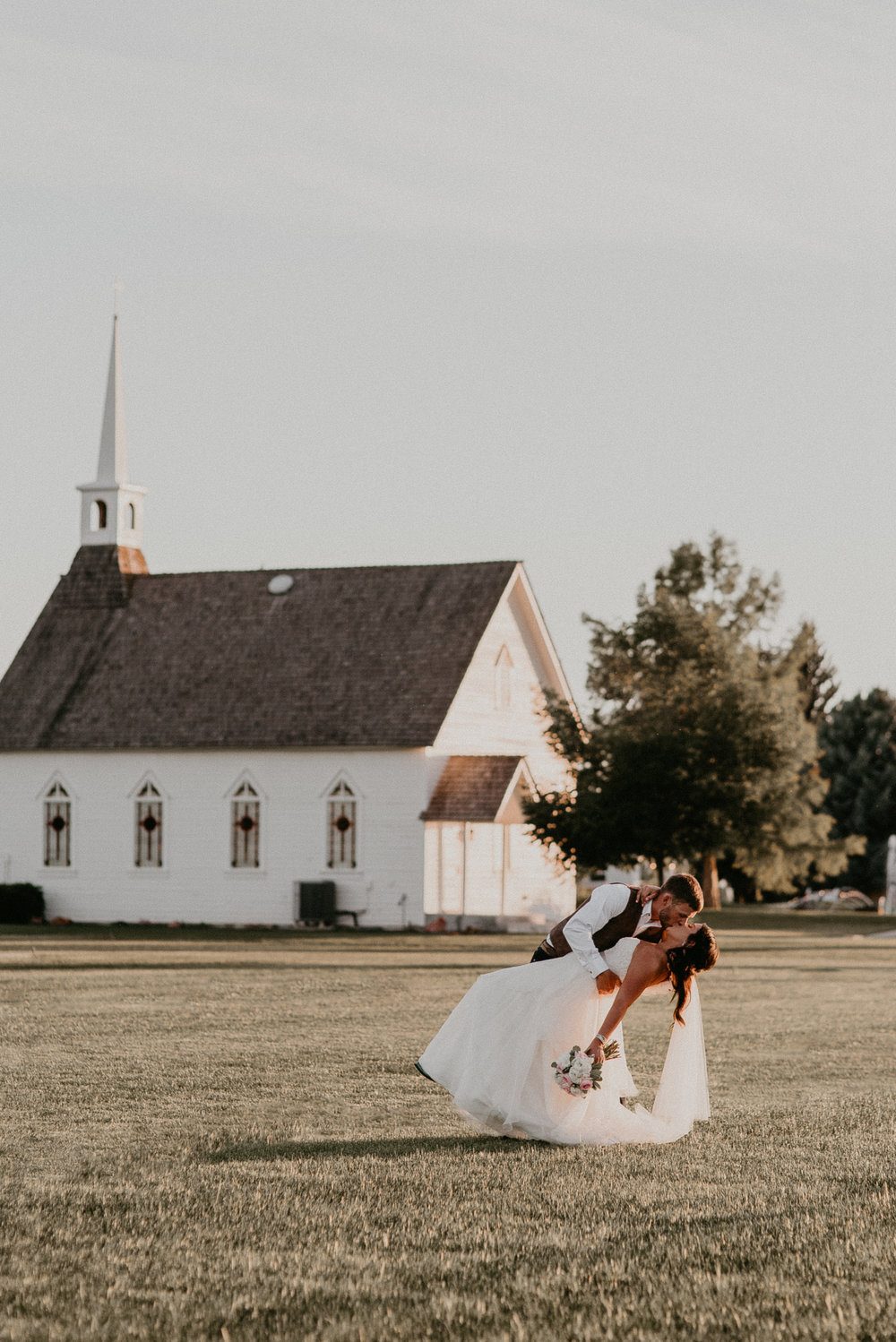 Boise Wedding Boise Senior Photographer Makayla Madden Photography Still Water Hollow Boise Wedding Venue Country Chic Rustic Bride and Groom Idaho Bride Summer Wedding Ideas Bridal Portraits Idaho