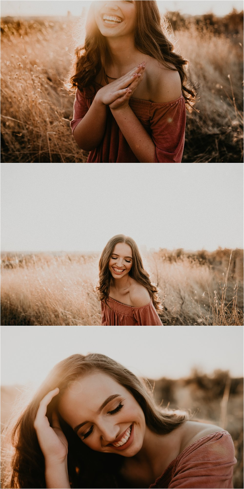 Boise Senior Photographer Makayla Madden Photography Downtown Boise Senior Pictures Boise Foothills Senior Outfit Locations Raw Real Natural Candid Moments Fall meridian senior photographer