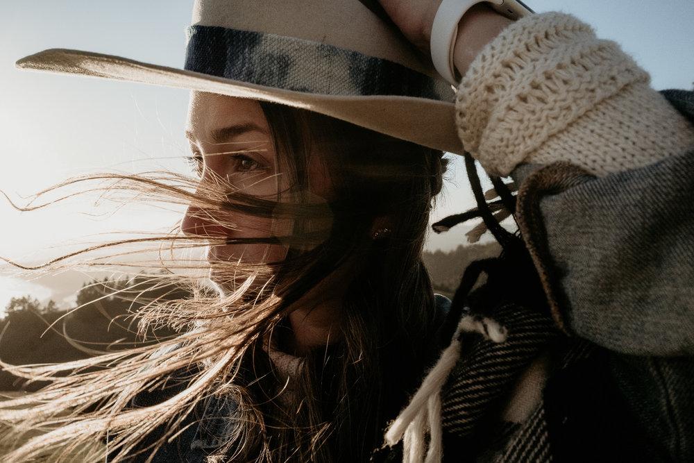 Betsey; Hat by Teresa Folgia