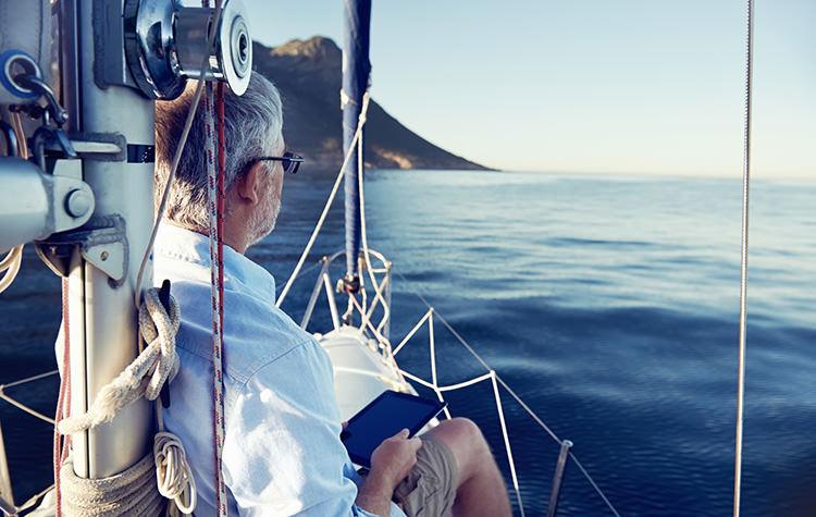 relaxing yacht charter