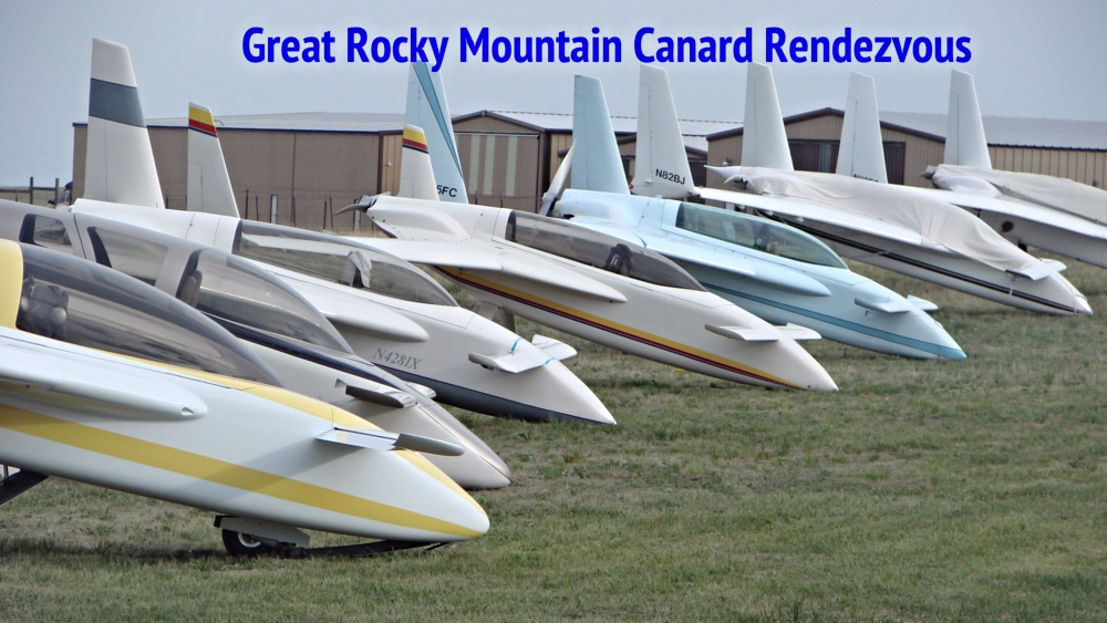 2012 Great Rocky Mountain Canard Rendezvous