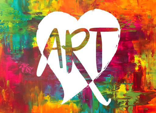 Creating an 'art' logo for the Heart of Rogers Downtown Craft Fair was fun.