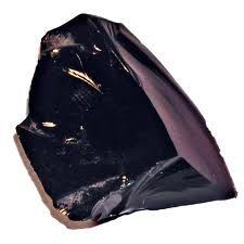 Obsidian is and example of an igneous rock with a glassy texture.