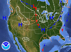 Air Pressure Mr Mulroys Earth Science - What does a weather map tell us