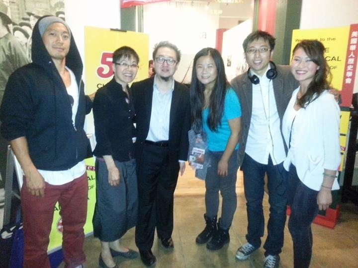 George Wang, Sue Lee (CHSA Executive Director), Steve Lee, me, Edwin Li, Danielle Lam (CHSA Board Member and comedy night organizer)