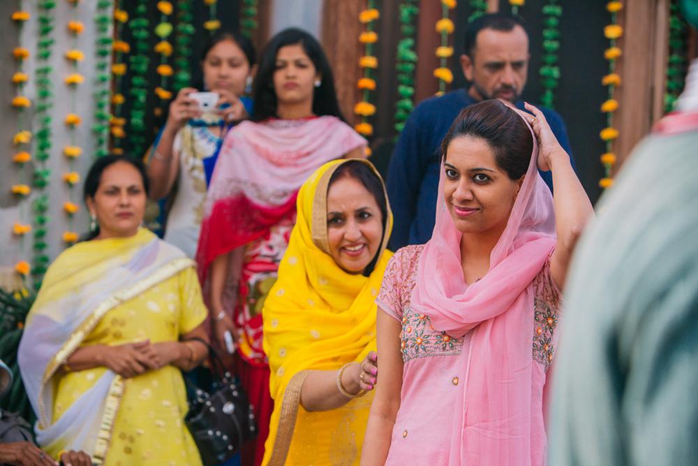 Mehndi Ceremony at Shirin's Place.