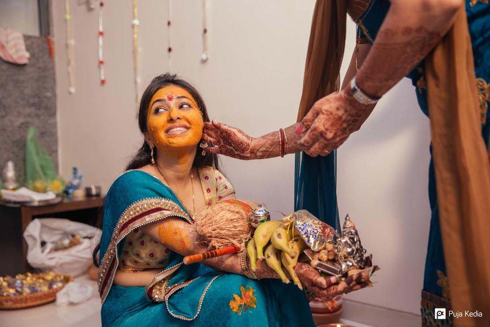 Pithi / Haldi Ceremony.